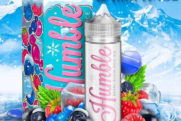 ice berry blow doe e liquid by humble juice co review
