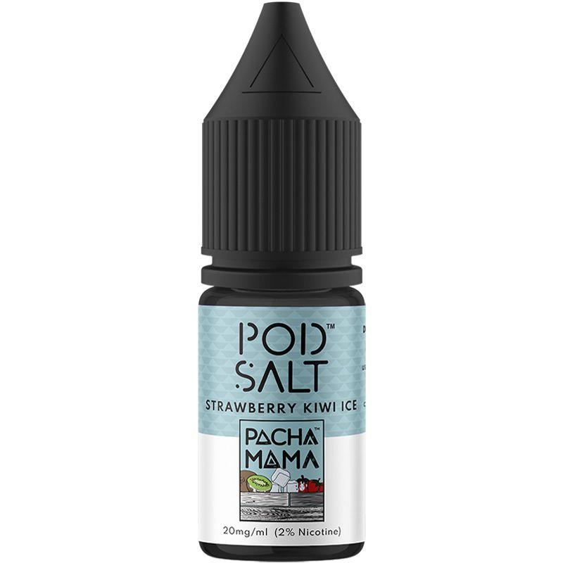 Strawberry Kiwi Ice Nic Salt E-Liquid by Pod Salt Review